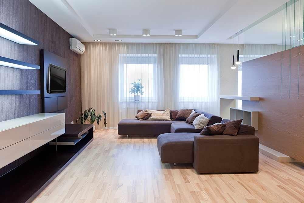 Дизайн ламината в квартире фото